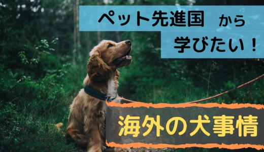 ペット先進国から学びたい!海外の犬事情